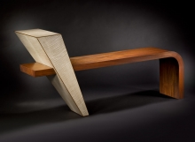 En'tree fine art bench by Douglas Lochner