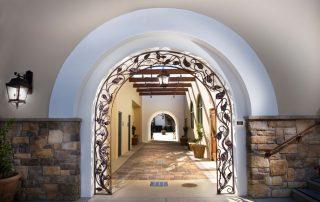 Iron archway 1 by Douglas Lochner