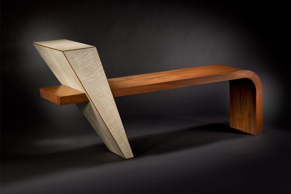 En'tree fine art bench by Douglas Lochner
