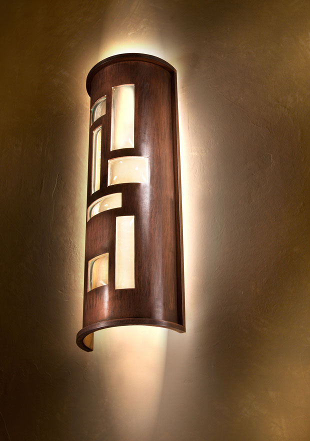 Custom lighting by Douglas Lochner