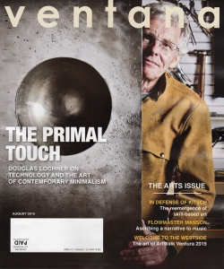 Cover of Ventana Magazine, August 2015