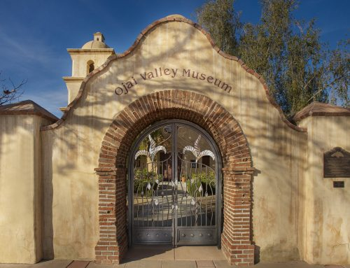 Ojai Museum Gates